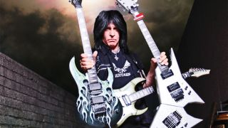 The inimitable Michael Angelo Batio: always outnumbered, never outgunned