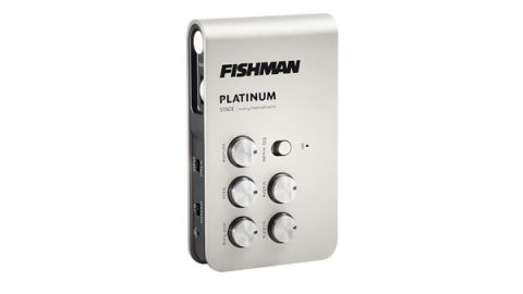 Its small size and numerous edge-placed switches mean you'll probably need to set it up prior to gig time
