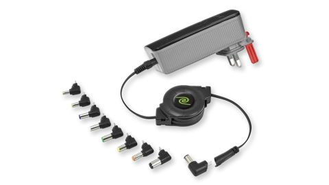 ReTrak Retractable Universal 70W Notebook Wall Charger