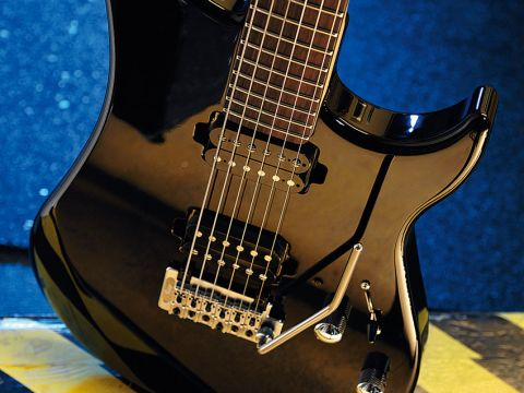 Don't like flashy guitars? Then the Kaos's stripped back looks should appeal.