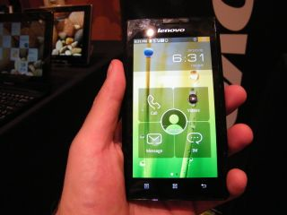 Hands on: Lenovo K800 review