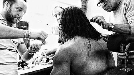 Dwayne Johnson teases first image of himself as Hercules