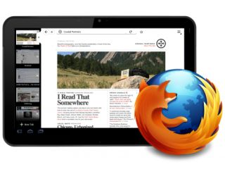 Mozilla showcases Firefox for Honeycomb tablets