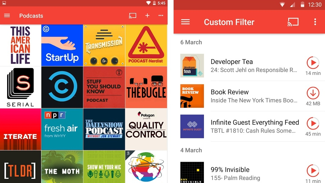 Pocket Casts now lets you spy on what people nearby are listening to