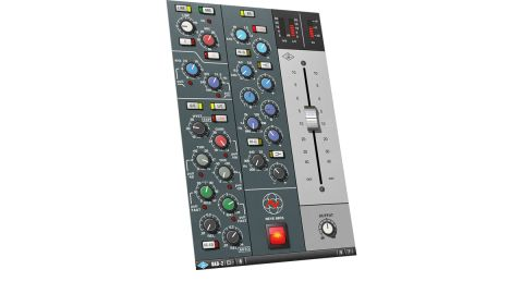 The 88RS MkII, like its predecessor, organises its channel strip controls into neat modules