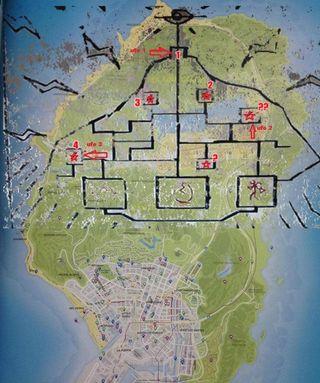 GTA 5 mural map