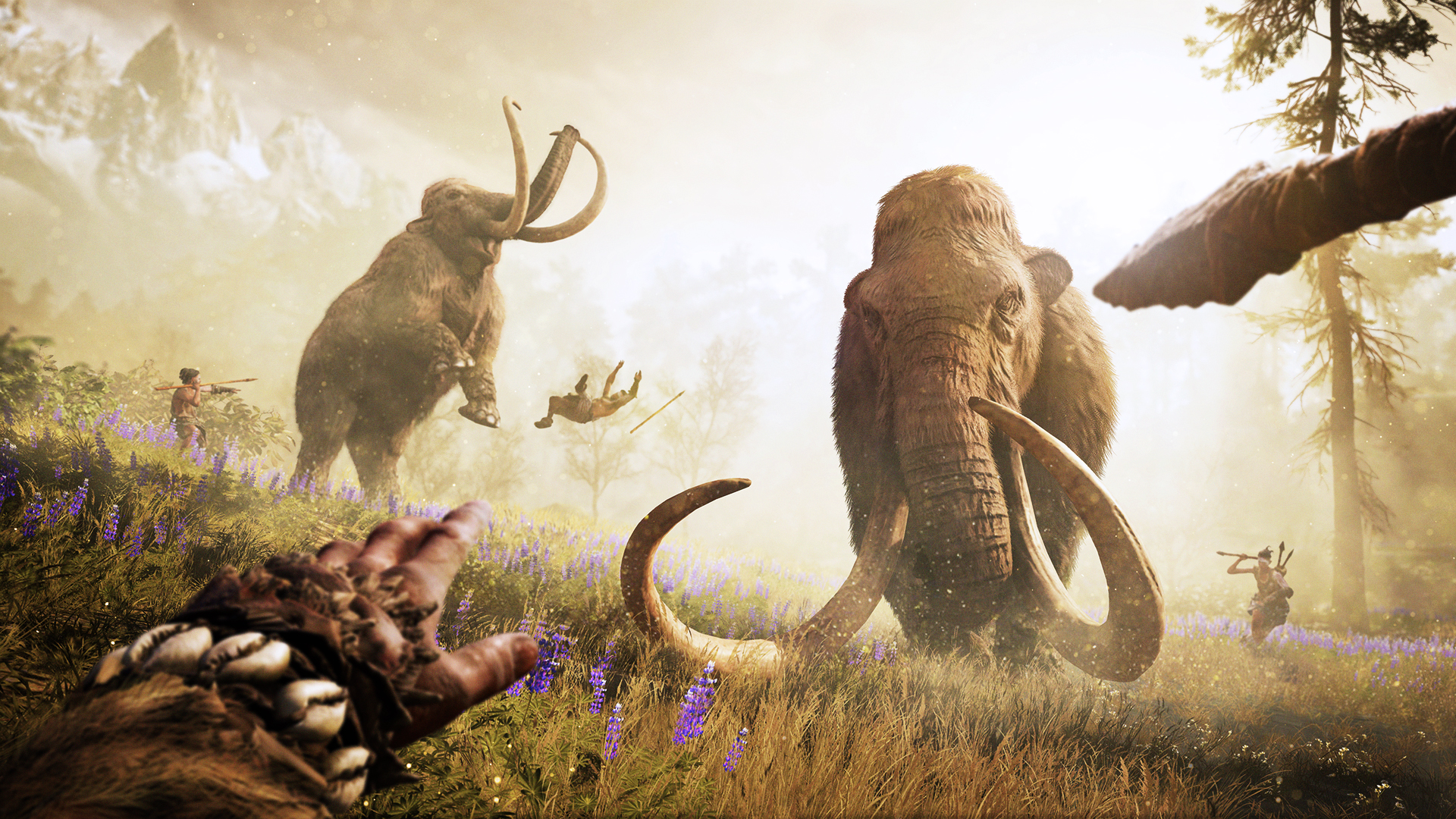 Far Cry Primal Gameplay Attack Of The Ancients Pc Gamer