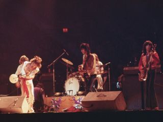 The Stones perform on their 1972 tour, which is documented in this remastered concert film.