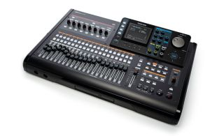 The Tascam DP-32 Portastudio, one of the firm's flagship pro audio products