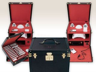 Karl Lagerfeld designed this Luis Vuitton high tech trunk with capacity for forty iPods Just don t ask why