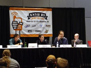 Community gaming panel at SXSWi