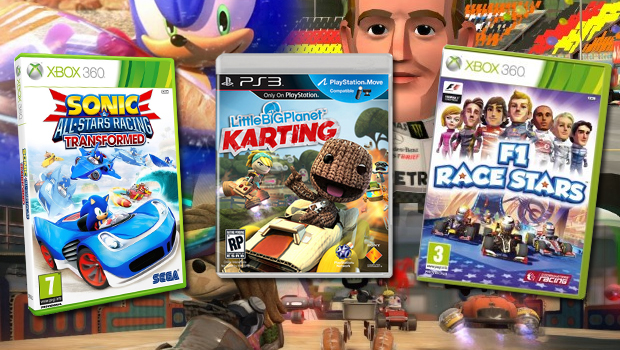 Holiday Kart Racer Round Up Sonic All Stars Racing Transformed Vs