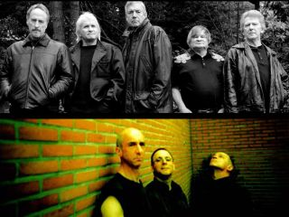 Reformed garage rock legends The Sonics (above) and post-punk icons Wire (below).
