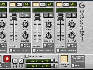 Propellerhead s Reason comes with its own ReGroove mixer