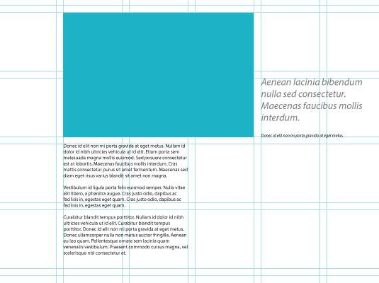 Create balanced layouts 1