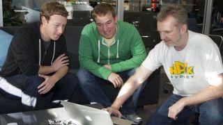 Zuckerberg and friends