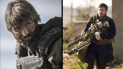 Watching District 9 With Sharlto Copley