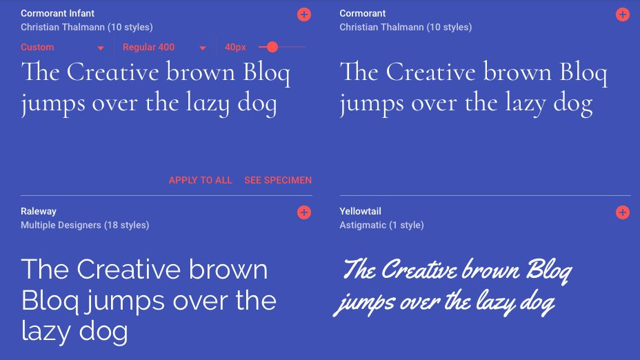 Google Fonts website gets a major redesign