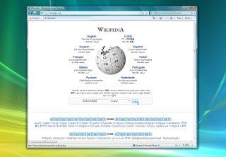 Wikipedia search