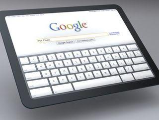 Google shoves Chrome OS on the slate
