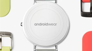 Android Wear watch back