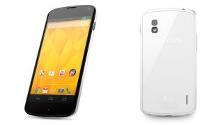 White Google Nexus 4 officially arrives, but nothing's changed