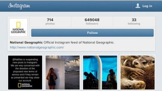 Boycott! National Geographic ditches Instagram over new terms
