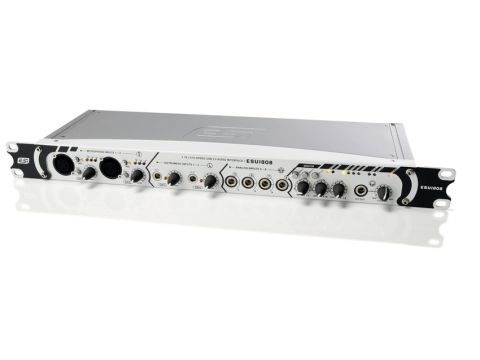 The ESU1808's front panel packs in a lot of connectivity.