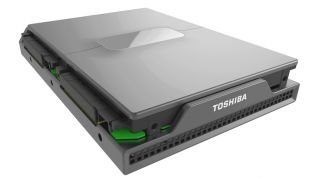 A server that is built around a hard disk drive