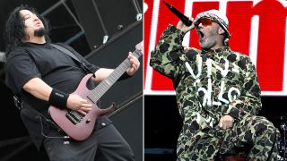 [L-R] Dino Cazares and Fred Durst
