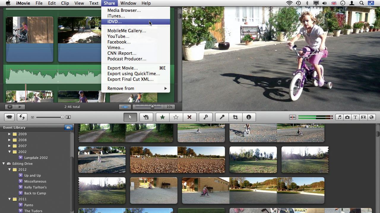 How to use iMovie chapter markers | TechRadar
