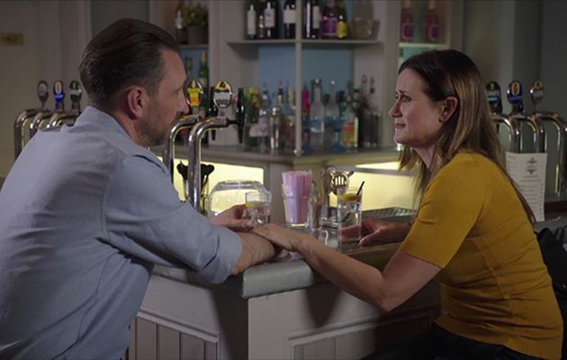 Holby City: Is LOVE in the air for Ange and Fletch? Dawn Steele reveals all!