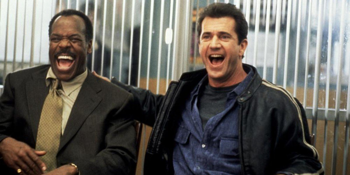 Danny Glover and Mel Gibson in Lethal Weapon 4