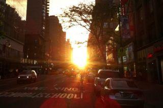 Manhattanhenge - Max Andrade