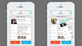 Search for a job like you'd search for a date with Tinder-style Weave app""
