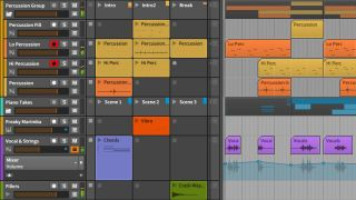 Group tracks are one of Bitwig Studio 1.2's headline new features.
