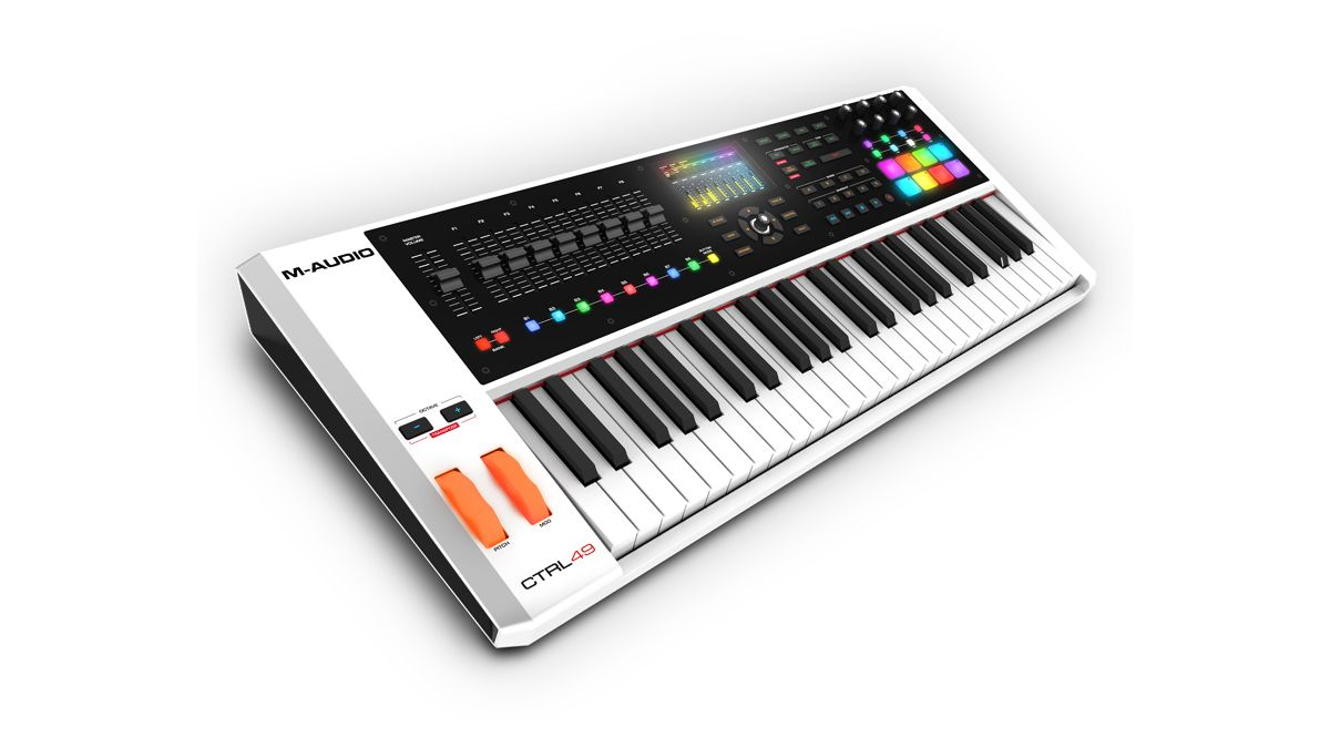 namm 2016 m audio wants you to take ctrl with its new 49 note midi keyboard musicradar. Black Bedroom Furniture Sets. Home Design Ideas
