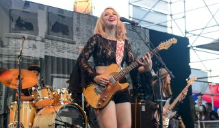 Samantha Fish performs at the Waterfront Blues Festival at Tom McCall Waterfront Park on July 4, 2016 in Portland, Oregon