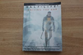 Half-Life 2 Raising the Bar publisher's proof