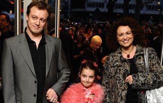 Nadia Sawalha with husband Mark Adderley