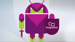 Imagination Android Robot