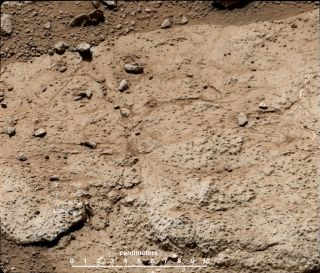 Curiosity's Second Drilling Target: 'Cumberland'