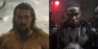 Arthur Curry and Black Manta in Aquaman (2018)