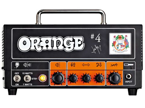 The Orange Signature #4 Jim Root Terror's 'pics only' front.
