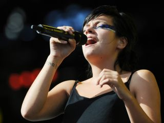 Lily Allen: bringing Kaoss to this year's festivals.