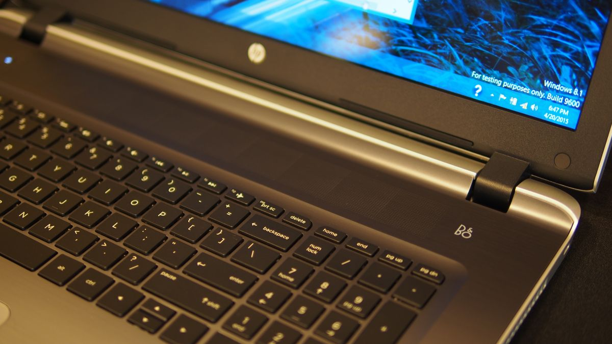 Hands On Hp Pavilion 15 2015 Review Techradar