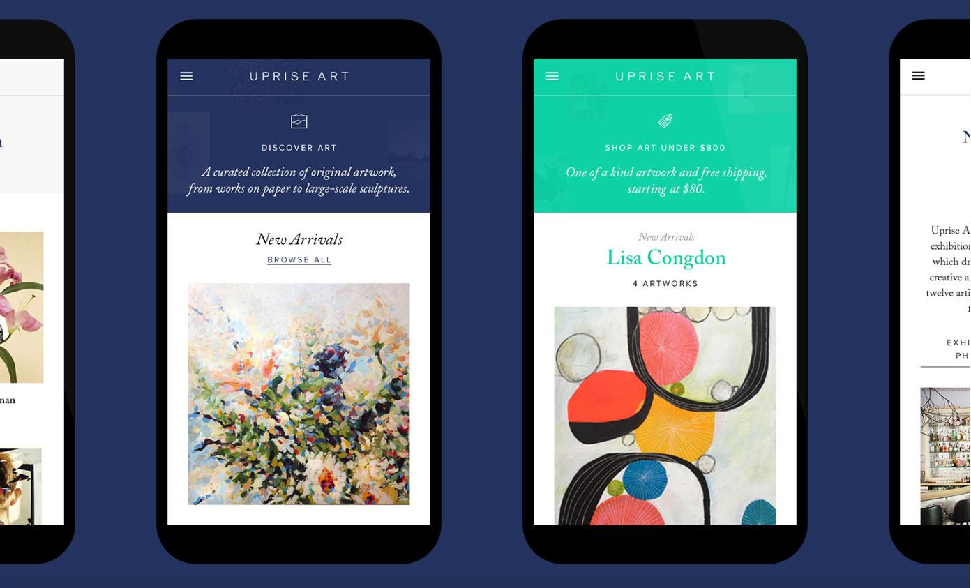 Uprise Art art app