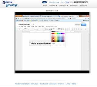Video Tutorial: Google Docs – Formatting Text