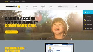CommBank website