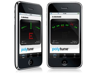 Will the iPhone edition of PolyTune work as well as the pedal